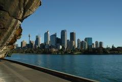 Sydney skyskrapor Royaltyfria Foton
