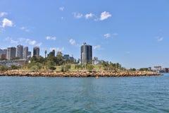 Sydney som ses från den Parramatta floden Royaltyfri Bild