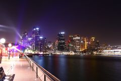 Sydney stad arkivbild