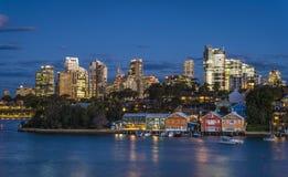Sydney stad arkivfoton