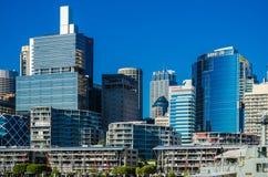 Sydney stad, Darling Harbor Arkivbild