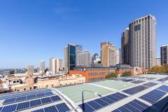 Sydney staden av solpaneler Royaltyfri Fotografi