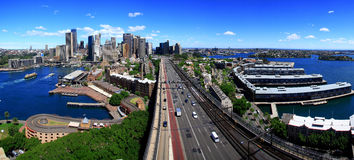 Sydney stadscbd, Australien. royaltyfria bilder