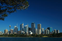 Sydney-Stadt Lizenzfreies Stockbild