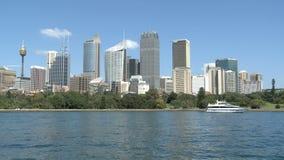 Sydney-Stadt im Sommermorgen stock video