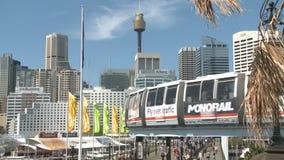 Sydney-Stadt im Sommermorgen stock footage
