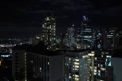 Sydney-Stadt im Sommermorgen Stockfotos