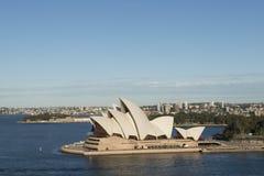 Sydney-Stadt Opernhaus australien Lizenzfreies Stockfoto
