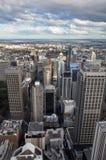Sydney-Stadt u. südliche Vorort-Antenne Australien stockfotos