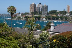 Sydney-Stadtseeseite Lizenzfreies Stockbild