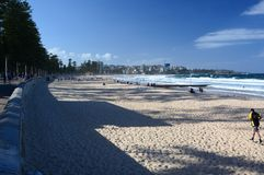 Manly beach. Sydney. New South Wales. Australia Stock Images