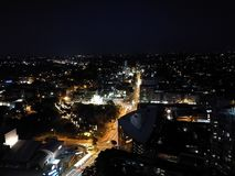 Sydney. Suburbs of Sydney by night Royalty Free Stock Image