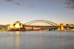 Sydney At Sundown Royalty Free Stock Photo