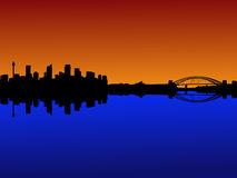 Sydney at sunset Royalty Free Stock Images