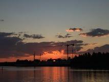Sydney Sunset Fotos de archivo libres de regalías