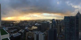 Sydney Sunset Stockbilder