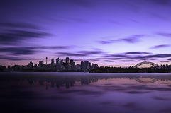 Sydney sunset Stock Images