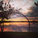 Sydney sunset Stock Photo