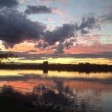 Sydney sunset Royalty Free Stock Images