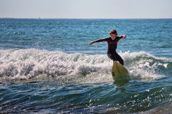 Sydney surfer stock images