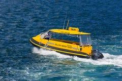 Sydney Taxi Boat lizenzfreie stockfotografie