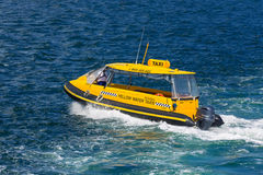 Sydney Taxi Boat Royalty Free Stock Photography