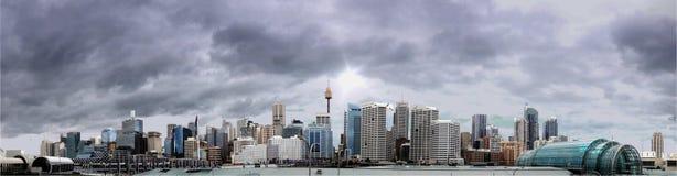 Sydney Thunder Scape fotografering för bildbyråer