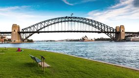 Sydney timelapse Fotografia Stock