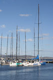 Sydney to Hobart racing Yachts, Hobart, Tasmania Stock Images