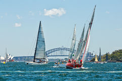 Sydney to Hobart yacht race 2014 Stock Photo