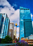 Sydney tower. Is Sydney\'s famous attractions Stock Images