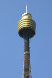 Sydney tower. In a blue sky Royalty Free Stock Photos