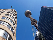 Sydney Tower, Australië royalty-vrije stock afbeelding