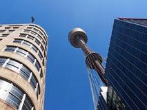 Sydney Tower, Australien lizenzfreies stockbild