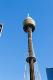 Sydney tower in the CBD Royalty Free Stock Images