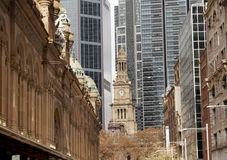 Sydney town hall Stock Image