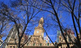 Sydney Town Hall and clock tower Royalty Free Stock Image