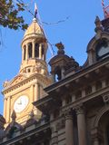 Sydney Town Hall Clock Tower Stock Image