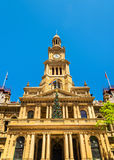 Sydney Town Hall dans l'Australie Construit en 1889 Photo stock