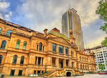Sydney Town Hall dans l'Australie Construit en 1889 Images stock