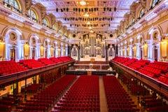 Sydney Town Hall-Theaterinnenraum stockfoto