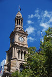 Sydney Townhall Royalty Free Stock Photography