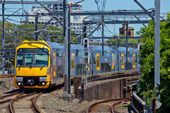 Sydney Train Fotografie Stock