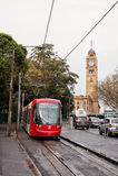 Sydney tram Stock Image