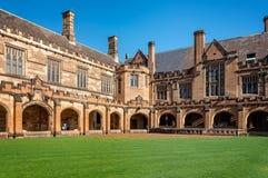 Sydney University Quadrangle Royalty Free Stock Image