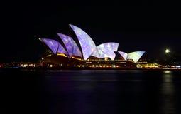 Sydney vívido 2016 Imagem de Stock Royalty Free