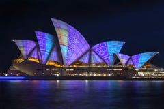 Sydney vívido 2016 foto de stock