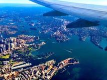Sydney van 20000 voet Stock Afbeelding