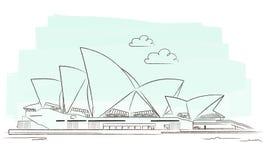 Sydney royalty free illustration