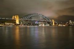 Sydney viez with Harbour Bridge Stock Image